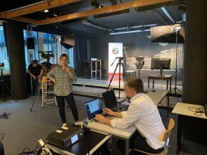 Videolivestream wird eingerichtet