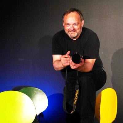 Marc Dauenhauer vom Theater Labor