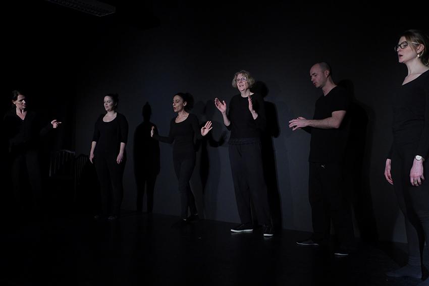 Gruppen-Schauspielunterricht im Theater Labor