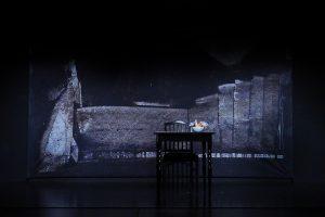 Bühnenhintergrund gestaltet von Rolf Abendroht