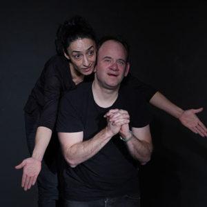Szenische Übung aus Leonce und Lena mit Belgin Akbaba uns Peter Schreck