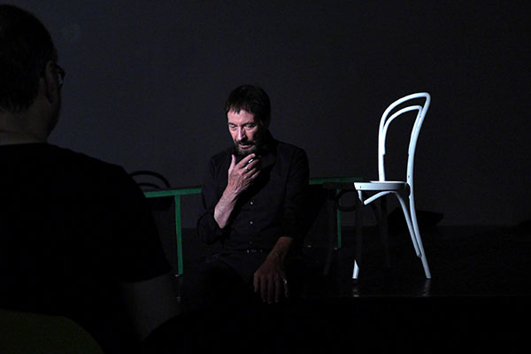 Studientag mit Wolfgang Keuter im Theater Labor
